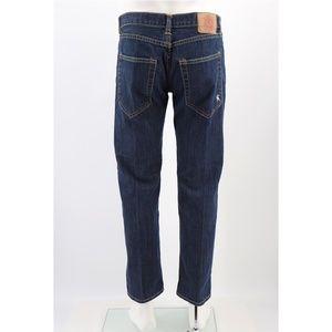 Christian Audigier Denim Straight Leg Jeans